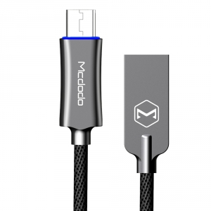 MCDODO MICRO-USB TO USB AUTO DISCONNECT LEAD - 1M