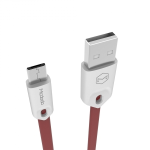MCDODO BASE RANGE MICRO-USB TO USB LEAD RED - 0.25M