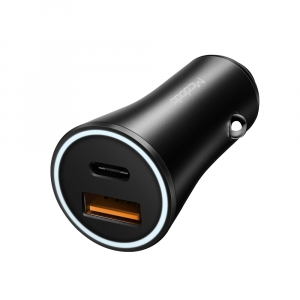 MCDODO 36W PD TYPE-C AND QC3.0 FAST CHARGE CAR CHARGER