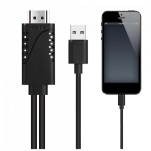 APPLE LIGHTNING TO HDMI LEAD - 2M