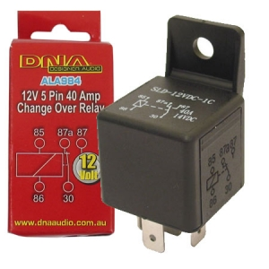 DNA 12V 5 PIN 40A CHANGE OVER RELAY