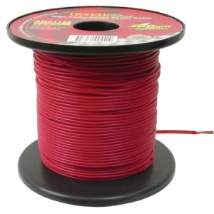 DNA 20 GAUGE HOOKUP CABLE RED 100M