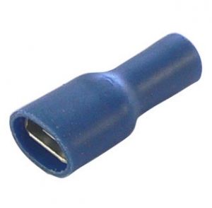 BELLANCO BLUE FEMALE QUICK CONNECTOR SPADE TERMINALS  - PK100