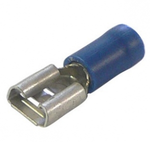 BELLANCO BLUE FEMALE QUICK CONNECTORS 3MM - PK100