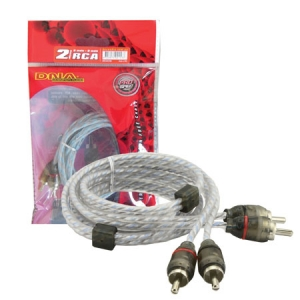 DNA 2RCA - 2RCA BULK AUDIO LEAD - 2M