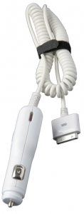APPLE IPOD CAR CHARGER WHITE