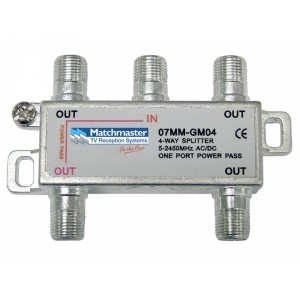 MATCHMASTER 4 WAY SPLITTER