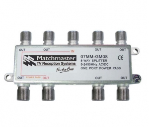 MATCHMASTER 8 WAY SPLITTER