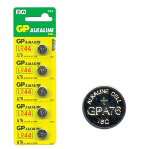 DNA ALKALINE LR44 BATTERY  1.5V 5PK