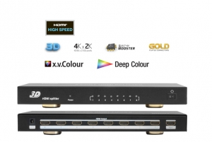 PRO.2 8 WAY HDMI SPLITTER - 1 IN - 8 OUT