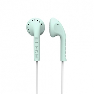 KOSS IN-EAR STEREO HEADPHONES - MINT