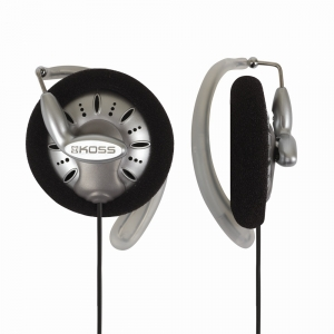 KOSS TITANIUM CLIP-ON STEREO HEADPHONES