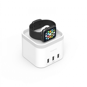 MBEAT APPLE WATCH CHARGING DOCK WITH 3x USB CHARGING
