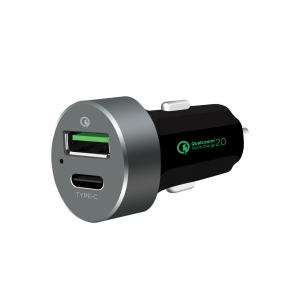 MBEAT QC QUICK CHARGE 2.0 $ TYPE-C USB CAR CHARGER