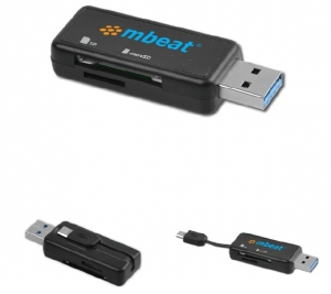 MBEAT ULTRA DUAL USB READER FOR PC AND SMARTPHONE/ TABLETS - *COMING SOON*