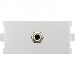 PRO.2 MODULAR WALL PLATE INSERT - 3.5MM AUDIO