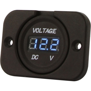 DNA HEAVY DUTY FLUSH MOUNT VOLT METER