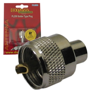 DNA CB SOLDER TYPE UHF PLUG