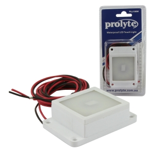PROLYTE WATERPROOF LED TOUCH LIGHT - WHITE