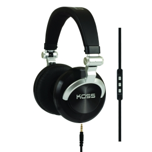KOSS DJ FULL SIZE STEREO HEADPHONES - STEREO AND MONO SWITCH