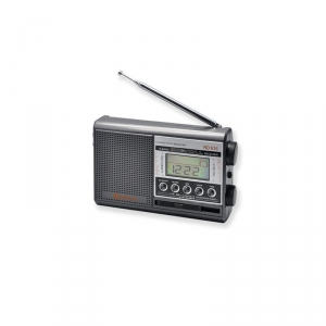 SANSAI 10 BAND PORTABLE WORLD RADIO WITH MAINS OR BATTERY POWER