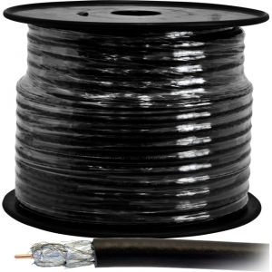 DOSS RG6QUAD COAX CABLE - 30M ROLL..