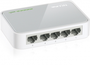 TP-LINK 5 PORT NETWORK SWITCH HUB