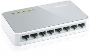 TP-LINK 8 PORT NETWORK SWITCH HUB