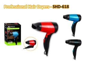 SANSAI 1000W FOLDABLE TRAVEL HAIR DRYER