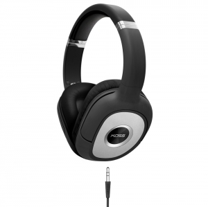 KOSS OVER-EAR HEADPHONES WITH DETACHABLE AUDIO LEAD
