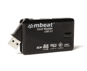 MBEAT PORTABLE USB CARD READER