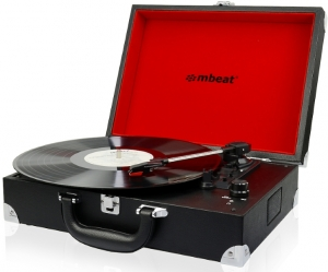 PORTABLE TURNTABLE WITH USB TO PC