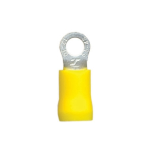 DNA YELLOW RING 4.3mm TERMINALS - 100PK