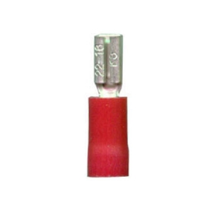 DNA RED FEMALE 2.8mm SPADE TERMINALS - 100PK