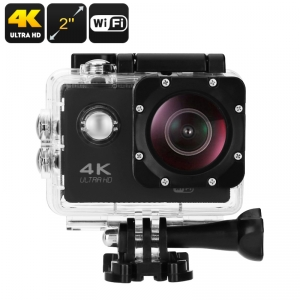 WESTEC 4K WIFI SPORTS CAM WITH 30M WATERPROOF CASE