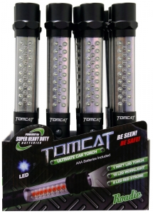 TOMCAT ROADSIDE LED SAFETY WAND INCL BATTERIES