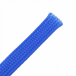 EXPANDA-SLEEVE 4MM BRAIDED CABLE FLEX BLUE - 30M