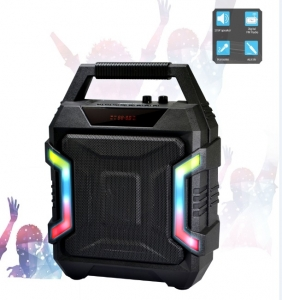 SANSAI DISCO PARTY BLUETOOTH 10W SPEAKERS WITH FM RADIO