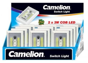 CAMELION WIRELESS WALL MOUNT COB LED LIGHT SWITCH