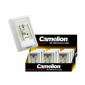 CAMELION WIRELESS LED PORTABLE LIGHT WITH WALL MOUNT