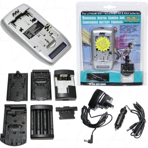 MI UNIVERSAL DIGITAL CAMERA/ CAMCORDER BATTERY CHARGER KIT