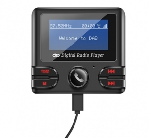 DAB+ BLUETOOTH RECEIVER ADD-ON MODULE WITH AUX OUT AND FM TRANSMITTER