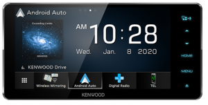 KENWOOD 200MM WIRELESS ANDROID AUTO/CARPLAY/ DAB+/CD/DVD AV RECEIVER WITH BLUETOOTH