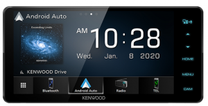 KENWOOD 200MM MECHLESS ANDROID AUTO/CARPLAY AV RECEIVER WITH BLUETOOTH
