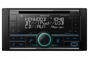 KENWOOD D/DIN AM/FM/CD TUNER WITH BLUETOOTH