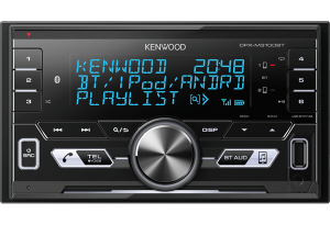 KENWOOD MECHLESS D/DIN MULTIMEDIA TUNER WITH BLUETOOTH