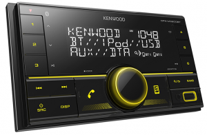 KENWOOD MECHLESS DOUBLE DIN MULTIMEDIA TUNER WITH BLUETOOTH