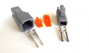 WESTEC DEUTSCH STYLE DTM 2PIN CONNECTOR PACK