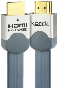 KORDZ EVS FLAT HIGH END HDMI LEAD - 7.5M