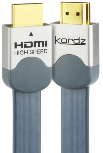KORDZ EVS FLAT HIGH END HDMI LEAD - 5M
